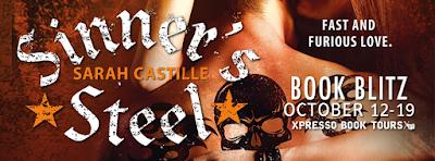 Book Blitz: Sinner's Steel by Sarah Castille + Giveaway (INT)