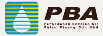 Jawatan Kerja Kosong Perbadanan Bekalan Air Pulau Pinang (PBA) logo www.ohjob.info