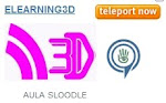 ELEARNING3D. Teleport Sede Second Life