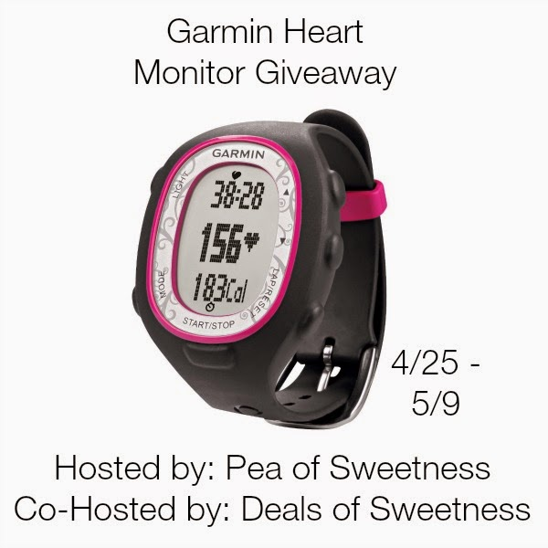 Garmin Heart Rate Monitor Giveaway
