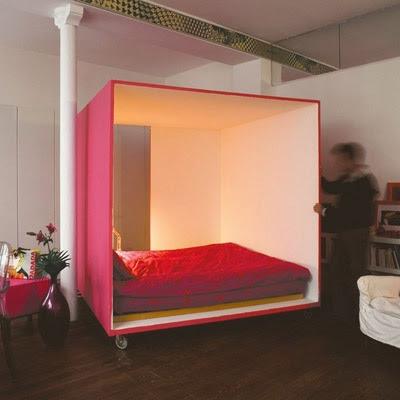 diseño cama cubo original