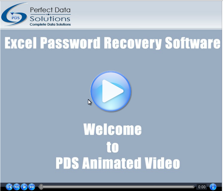 Excel Password Recovery Software Video