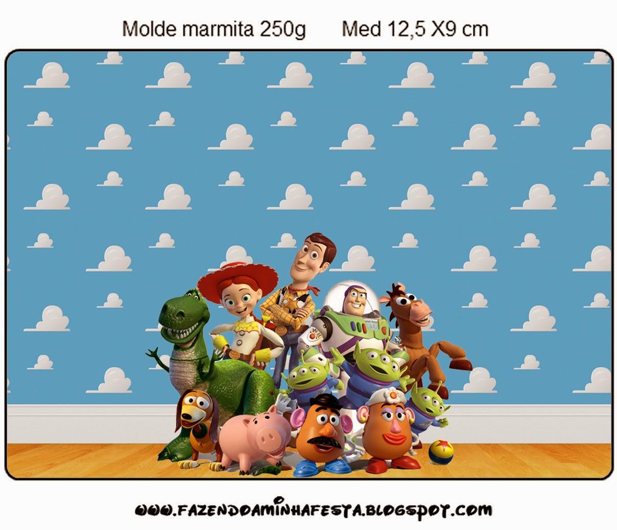 Etiquetas de Toy Story 3 para imprimir gratis.