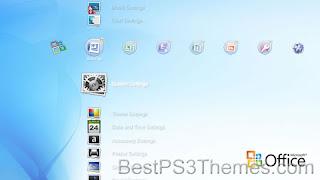 Microsoft Office 2010 Theme ps3