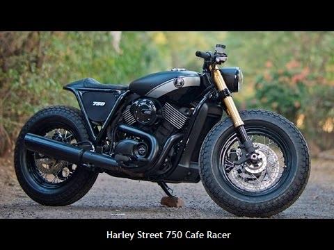 Gambar motor Harley Street 750 Cafe Racer