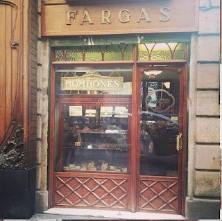 Tomas Colomer - The Shopping Night Barcelona - 2013 - chocolates FARGAS