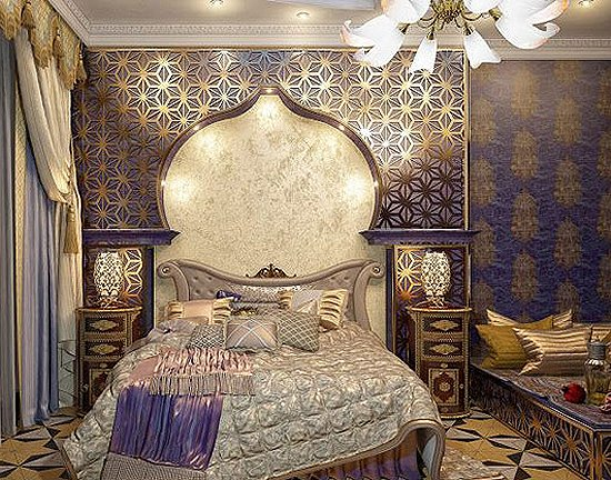 Decorating theme bedrooms maries manor exotic global for Arabian decoration