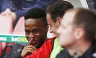 Raheem Sterling: he wouldn't go to Manchester United would he?