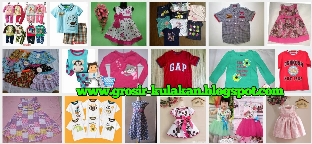 Supplier Pakaian Anak Branded