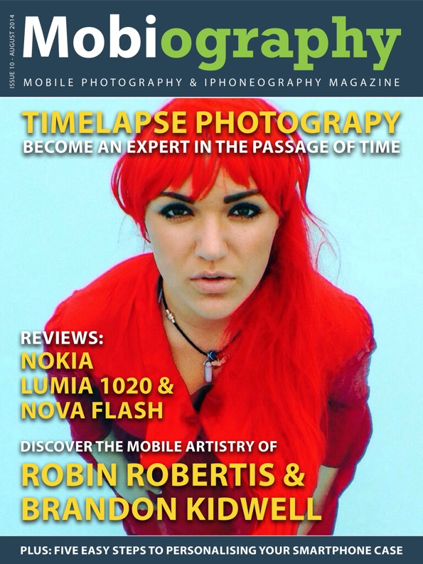 Mobiography Magazine Featuring Robin Robertis