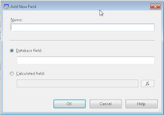 Add Field Dialog