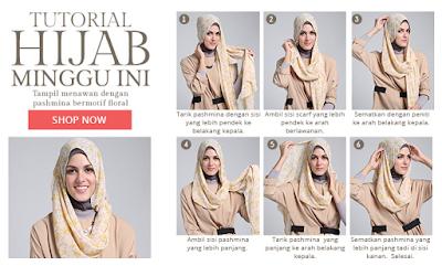 Aneka Gambar Tutorial Hijab Remaja Terbaru