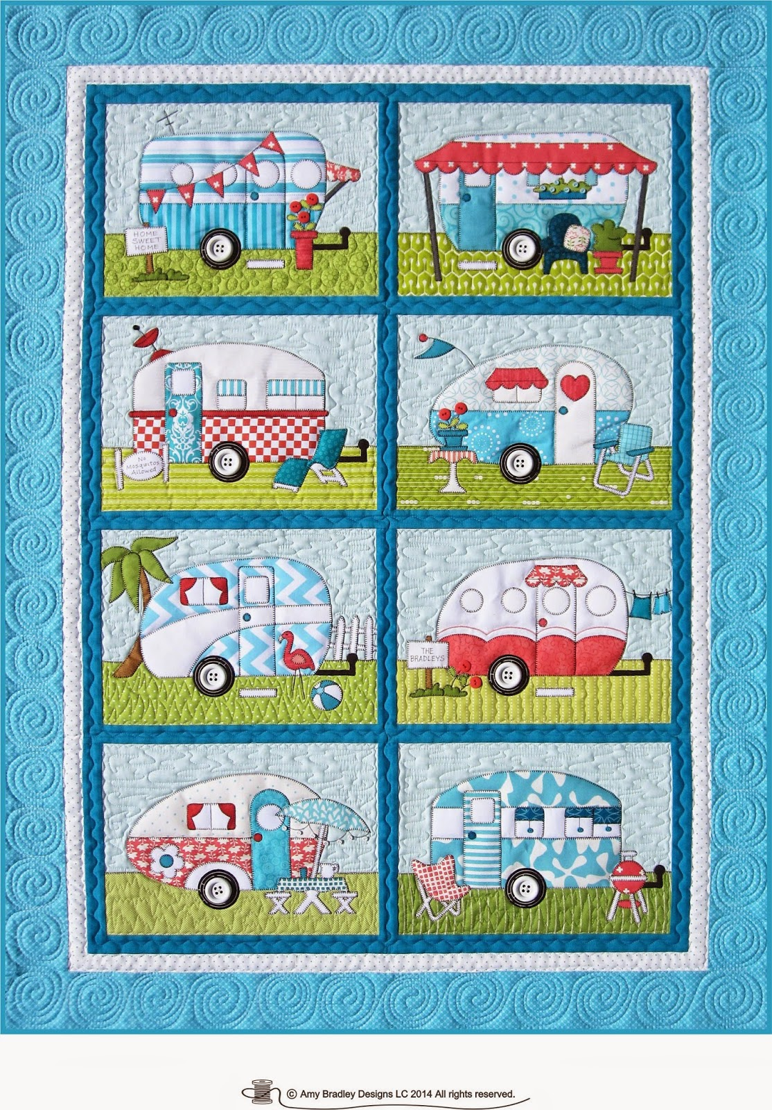 Popular First She Realized It Would Look Great In Her New RVs Bedroom Then She Saw The Pattern In An Episode Of The Midnight Quilt Show And The Rest Is History Get The Tissues Ready DFoust Is Using The Town Square Quilt Pattern To Create