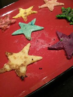 colour star pancake
