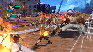 One Piece Pirate Warriors Gamescom Gameplay Screenshots Ace Whitebeard