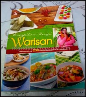 Buku Chef Hanieliza