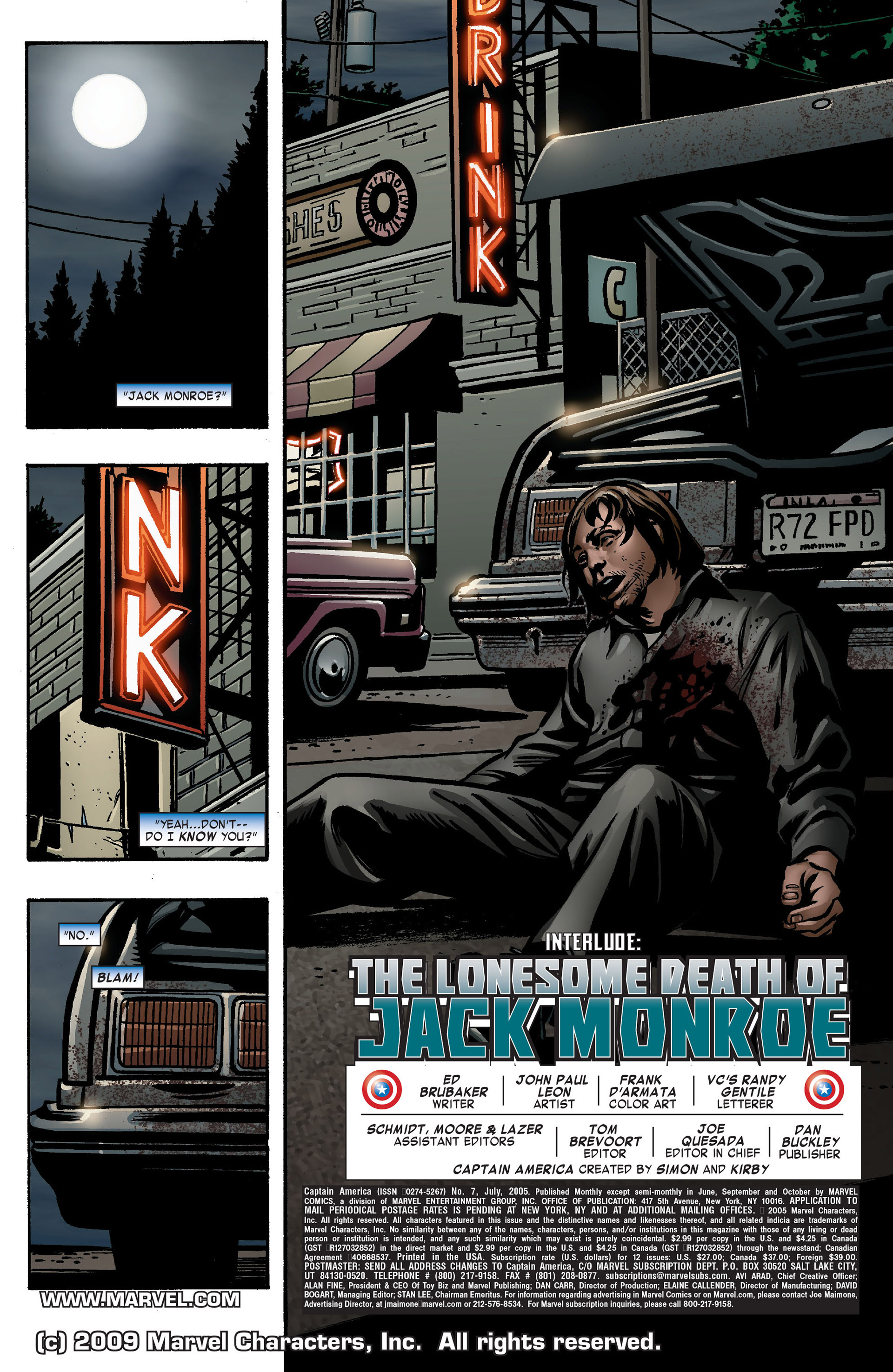 Captain America (2005) Issue #7 #7 - English 2