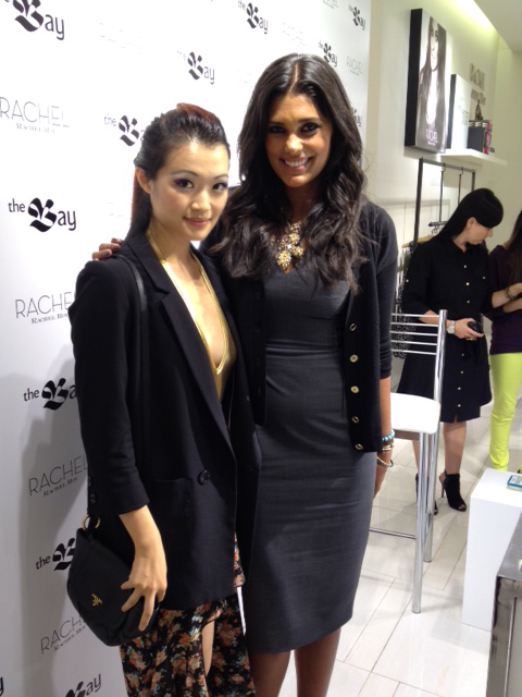 Rachel Roy and Jasmine Zhu of super poser series, fashion designer, Vancouver, Event