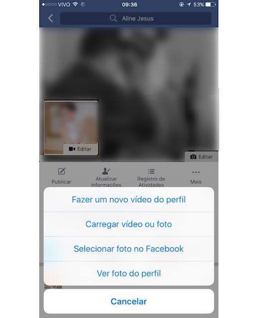 Facebook: Aprenda como colocar vídeo como avatar no perfil