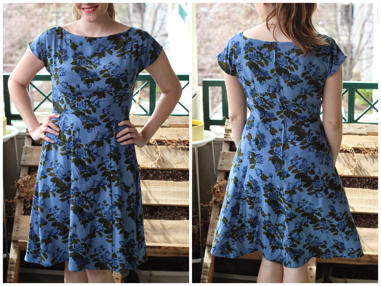 Rayon Fabric Dress