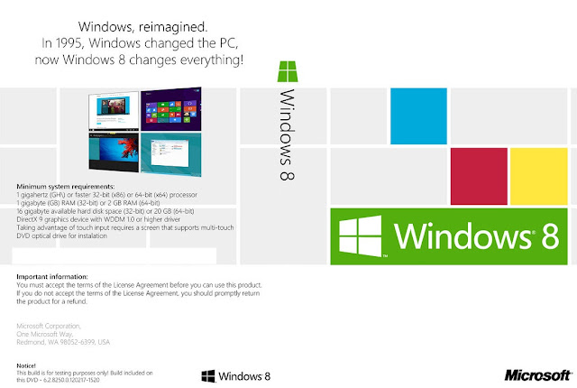 Download Windows 8 Build 8400 Full Version ISO Bootable 64 Bit