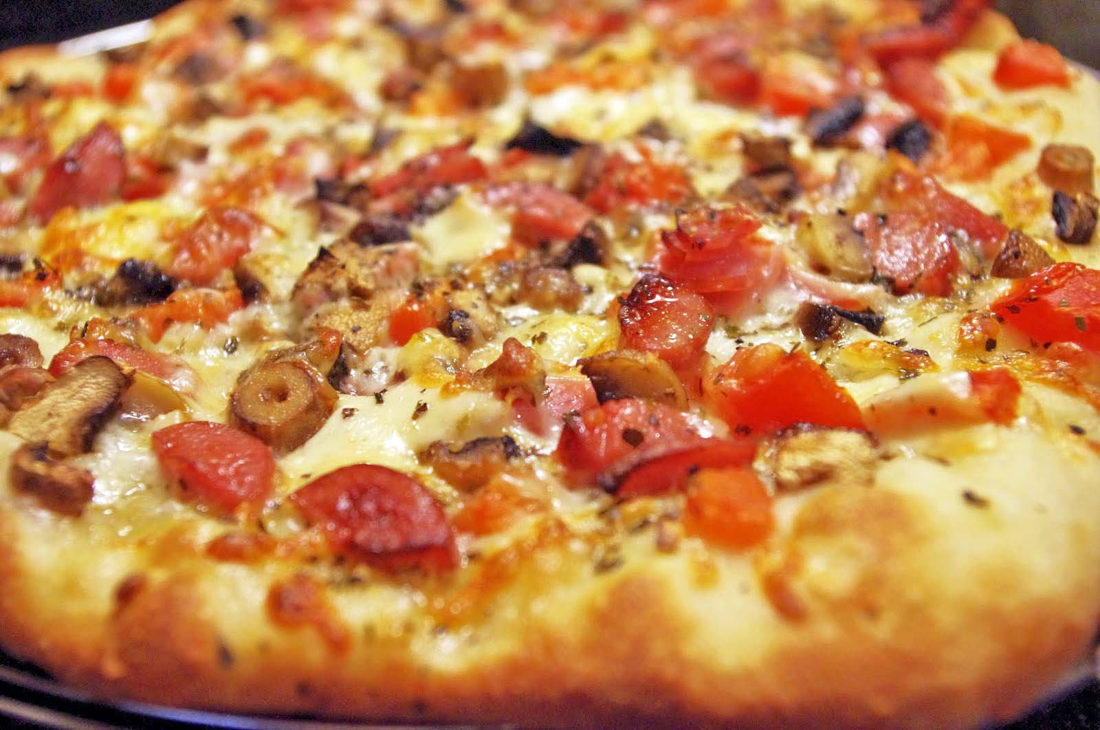 goodness bake!: Perfect homemade pizza dough