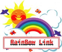 Cara Membuat Efek Pelangi Link Blog