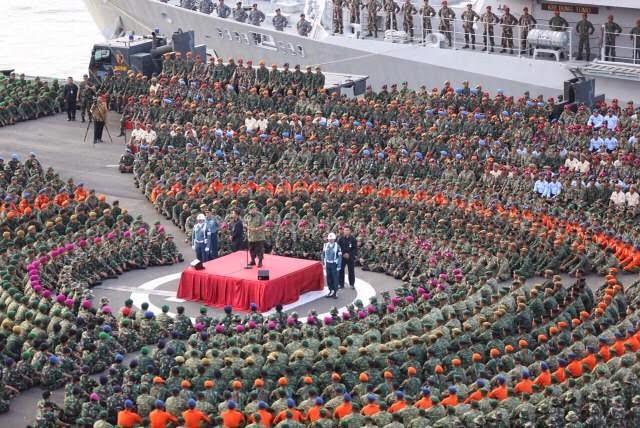 SBY Klaim Sepuluh Tahun Konsisten Membangun TNI