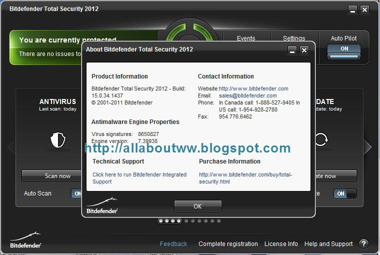 Bitdefender 2008 total security.
