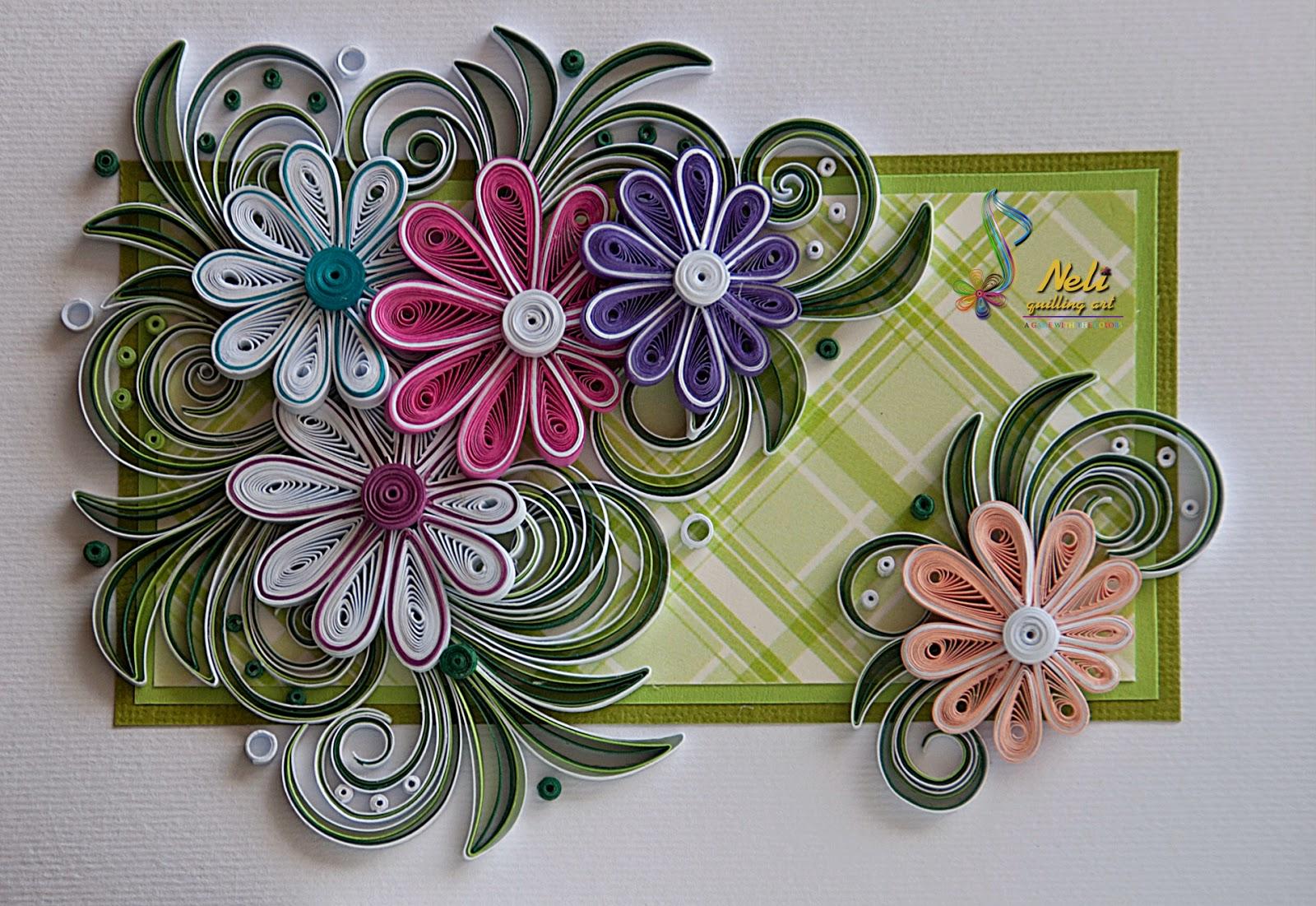 Объемные цветы из квиллинга своими руками 51