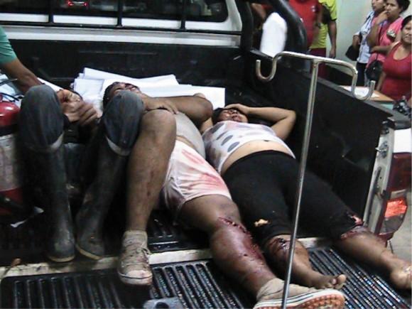 Choque de camión con trimóvil deja tres muertos y dos heridos en Tocache
