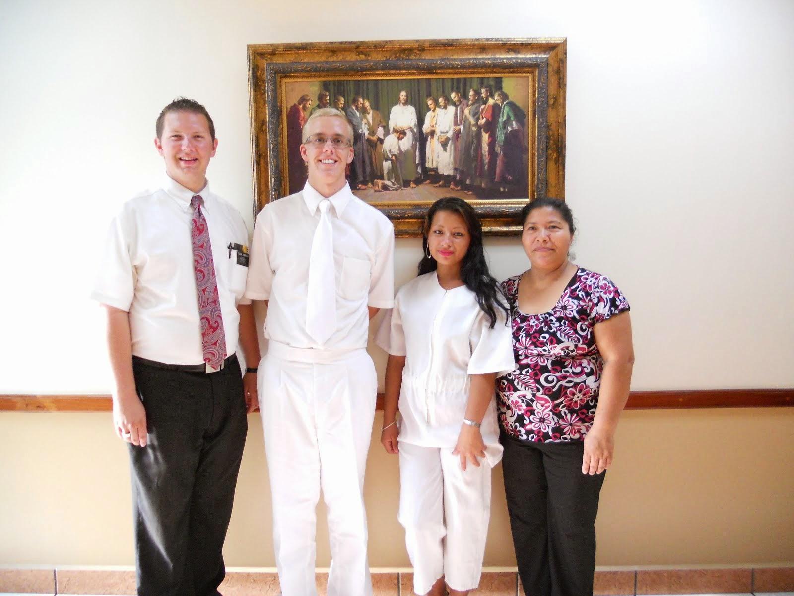 Maribel's Baptism