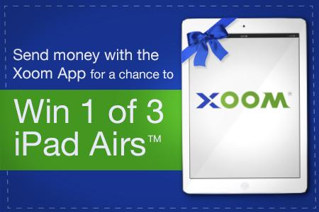 Envia Dinero a tu Pais y Gana uno de tres iPad Airs