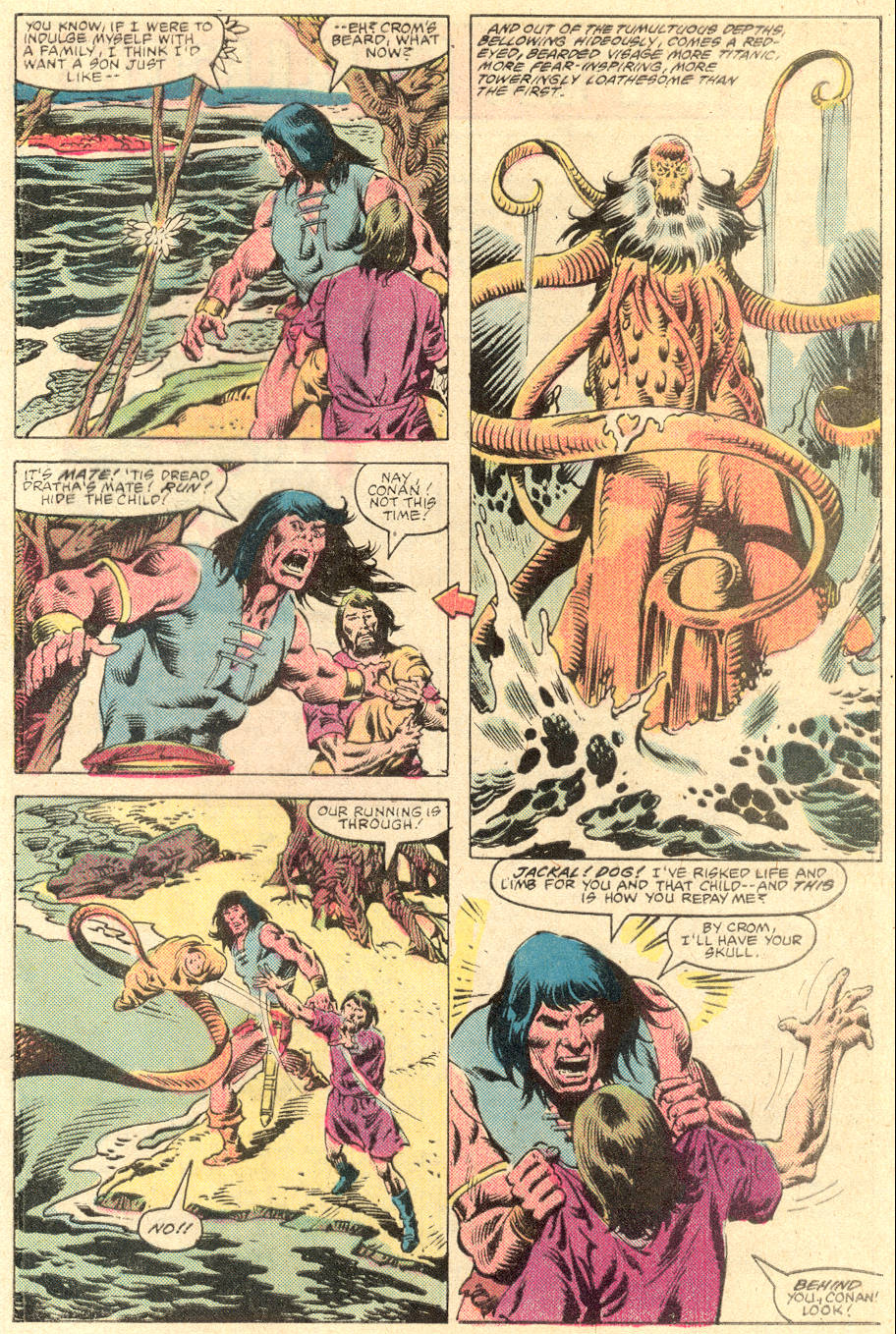 Conan the Barbarian (1970) Issue #136 #148 - English 22