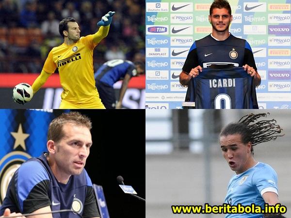 transfer pemain terbaru inter milan di bursa transfer awal musim 2013