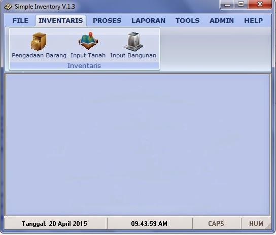 Software Inventaris Barang Sekolah