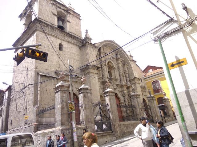 Iglesia Santo Domingo, La Paz, Bolivia