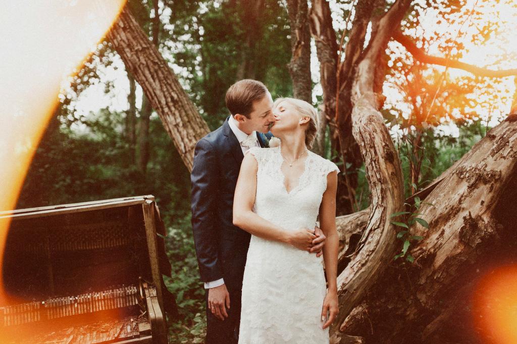 Bröllop i Sundborn vid Carl Larssons gård | Bröllopsfotograf Falun