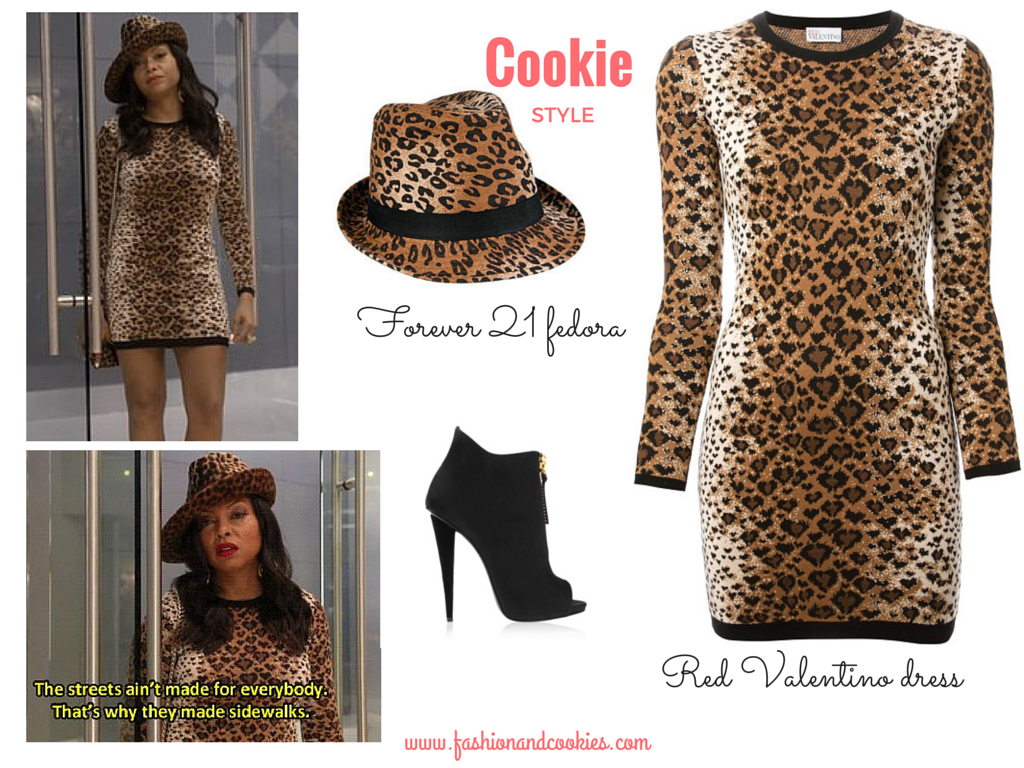 Cookie Lyon leopard outfit, red valentino leopard dress, Cookie Lyon sexy look, Cookie Lyon outfit, Fashion and Cookies, fashion blogger, fashion blog
