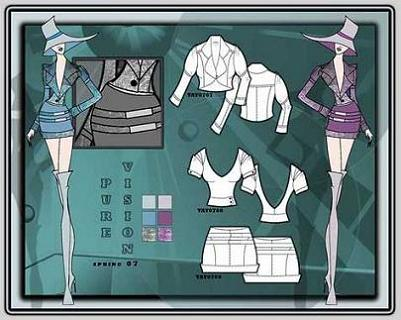 figuramoda fashion board. Black Bedroom Furniture Sets. Home Design Ideas