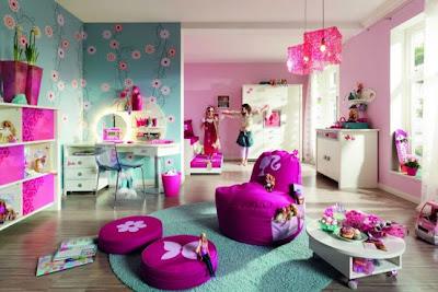 habitación tematica niña