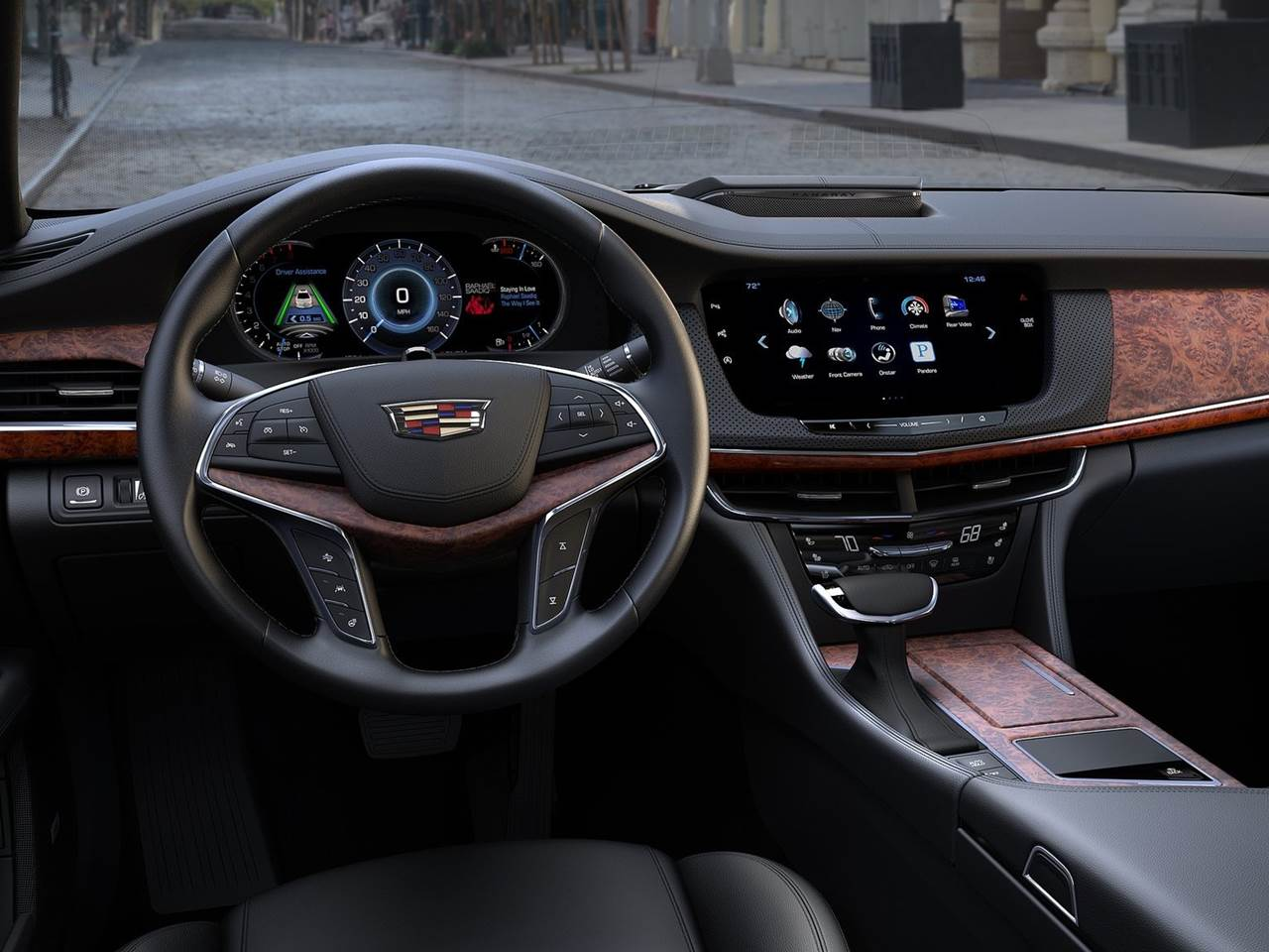 Cadillac CT6 - painel