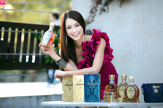1 Ju Da Ha for Kingdom Whisky-very cute asian girl-girlcute4u.blogspot.com