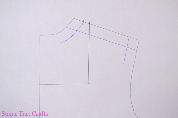 pattern drafting tutorial for necklines and facings