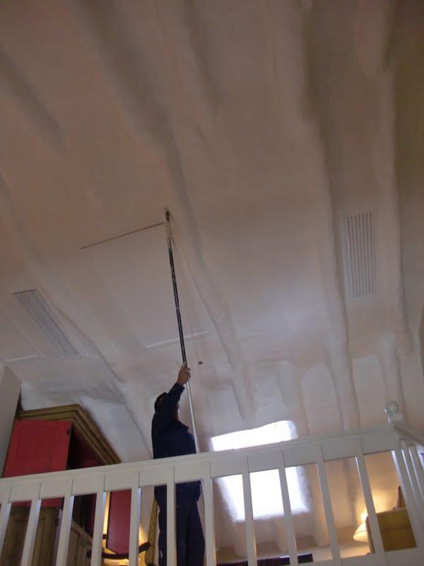 Aprende con tu amigo luis como pintar techos muy altos - Como pintar techos ...