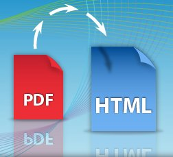How to convert PDF to html free