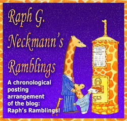 Raph G. Neckmann's Ramblings - the blog of a giraffe!