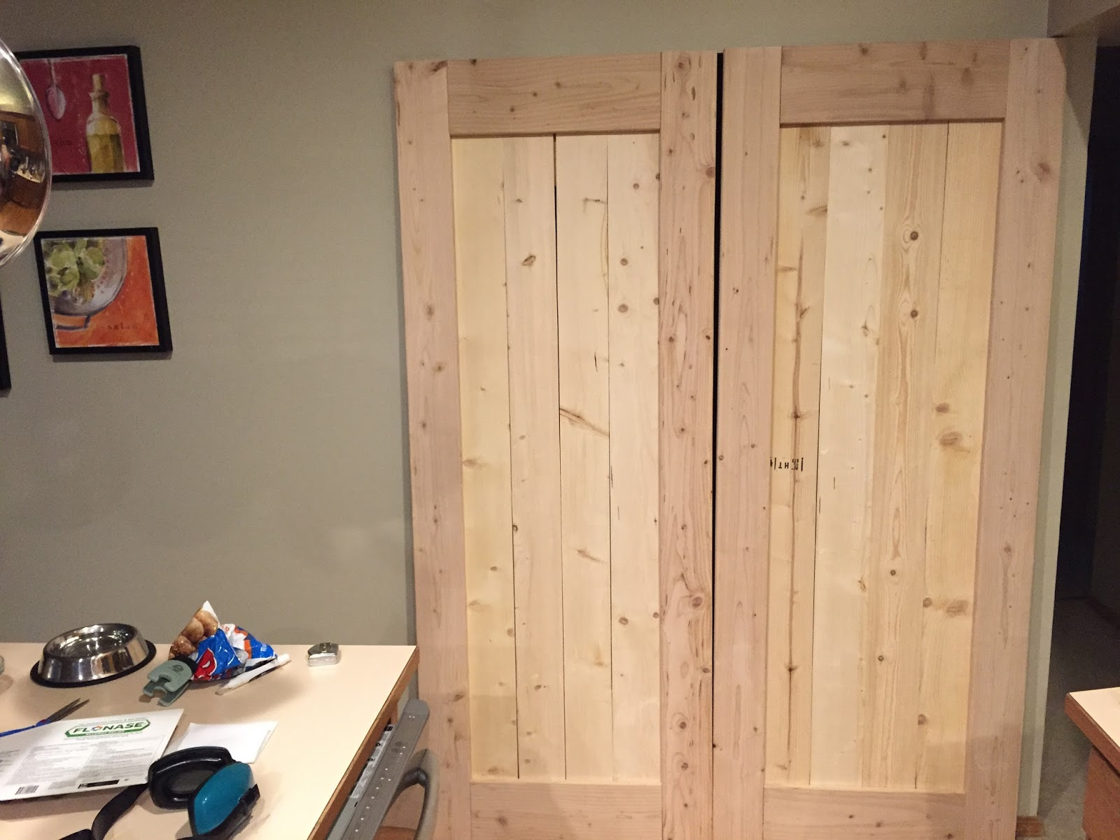 Andrew s Tech Page Custom Kitchen Pantry Barn Doors