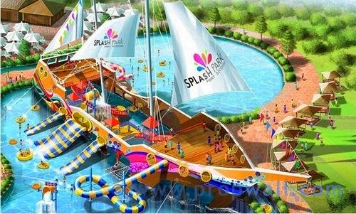 """Splash Park"", Port Dickson: The Largest Water Theme Park"