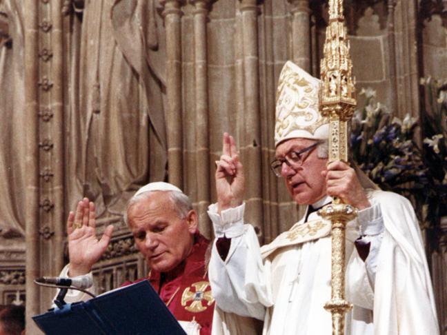 Risultati immagini per john paul ii anglican